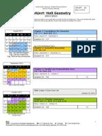 geometry holt math pacing calendar 2013-2014