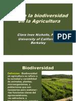 08 Nicholls; Rol Biodiversidad en Agricultura.