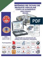 Compêndio de Fichas de Resgate Veicular - 2013 - CBPMESP