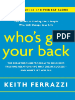 Who's Got Your Back, by Keith Ferrazzi - Excerpt