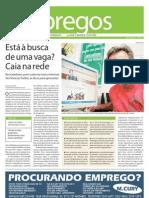 Matéria do Jornal O Dia sobre redes sociais e empregabilidade