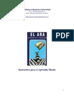 EL ARA, libro instructivo para el aprendiz Masón