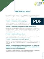 2.1.Principios Del APPCC