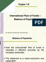 Chapter-1B International Flow of Funds - BOP