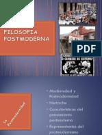 Filosofía Postmoderna