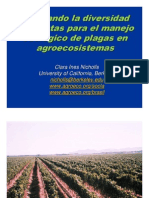 11 Nicholls; Biodiversidad y Manejo de Plagas.