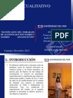 Analisis Cualitativo Embarazo Adolescente Final[1]