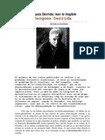 Derrida - Leer Lo Ilegible