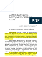 As Tres Economias Politicas Do Welfare State - Gosta Esping-Andersen
