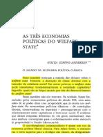 As Tres Economias Politicas Do Welfare State - Gosta Esping-Andersen