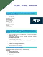 Lista de exercícios Sistemas Operacionais Resolvida