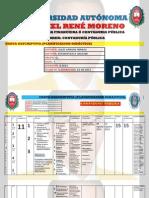Carta Descriptiva Mat260 Uagrm