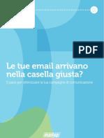MailUp eBook 01-Le Tue Email Arrivano Nella Casella Giusta