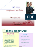 Sekretaris Profesional Stikom Print Ppt