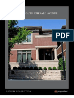 Steve McEwen Presents 1454 S. Emerald, Chicago Luxury Brochure