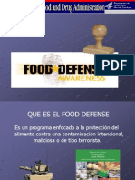 Presentacion Food Defense 2