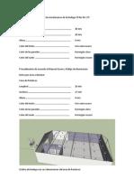Cálculos de alumbrado de las instalaciones de la bodega 39 No 46