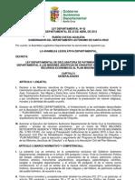 Ley Departamental 42