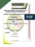 PROYECCIÓN DE LAS ESCENAS EN EL PLANO DE IMAGEN