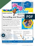 Pre-Writing and Visual Motor Skills Parent Ed
