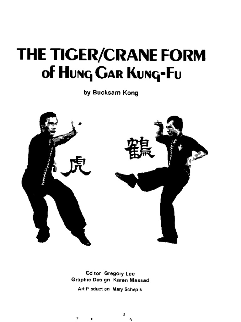 The tigercrane form of hung gar kung fu bucksam kong 1983 the tigercrane form of hung gar kung fu bucksam kong 1983 chinese martial arts east asian martial arts fandeluxe Choice Image