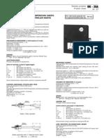 Databook Controlador válvulas 2