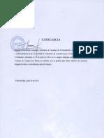 Constancia Consejo Nº 6-2013