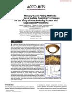 Ancient Mercury-Based Plating Methods
