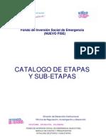 Guía de Costos No 5-Parte 2.-Catalogo de Etapas y Sub-Etapas