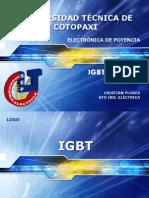 IGBT - MOSFET Cristian Flores
