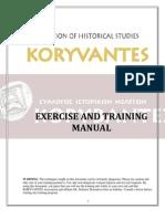 Association KORYVANTES - Exercise and Training Manual of the Ancient Greek Hoplite Phallanx