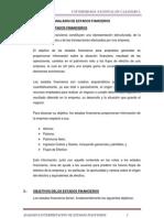 Analasisi de Estados Fiancieros Final Presentar