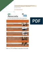 Araucaria-Desarrollo y Dependencia
