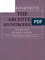 Gerard Genette the Architext an Introduction 1