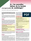 Item 132 Angine de Poitrine Et Infarctus Angor Stable Les Nouvelles Recommandations de La Societe Europeennes de Cardiologie 1