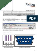 gradiente philco btg 002 05  esquema de fiação do conector de atualização de software dos televisores
