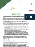 Gelatin As