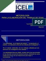 Curso de Metodologia