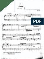 Suzuki Piano School Volume 2-Minuet 2