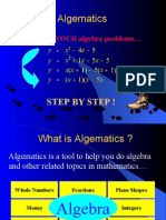 Algematics Demo
