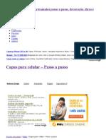 Capas Para Celular - Passo a Passo _ Revista Artesanato