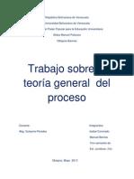 Trabajo Sobre La Teoria General Del Proceso