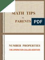 Maths tipss
