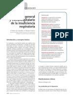 Manejo General y Extrahospitalario de La Insuficiencia Respiratoria