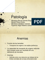 patologia exposicion hematologia