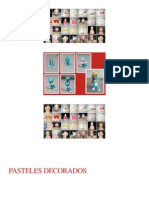 Pasteles Decorados Comunion