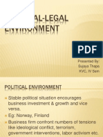 Unit 2 Political Legal Environment