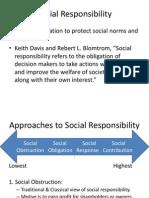 Unit 4-Social Responsibility