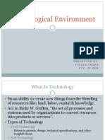 Unit 5-Technological Environment