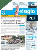 elsiglo Maracay sábado 27-07-2013